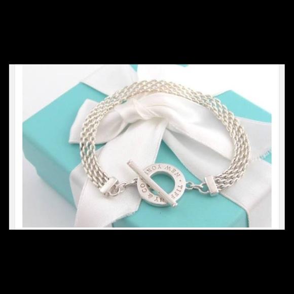 849eebcc9 Tiffany & Co. Jewelry | Tiffany Co Somerset Toggle Bracelet | Poshmark